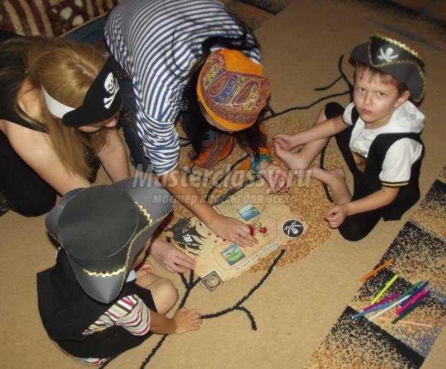 Конкурсы на пиратскую тему для взрослых