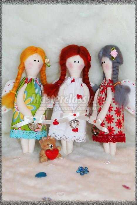 Объёмные ангелочки своими руками фото 711