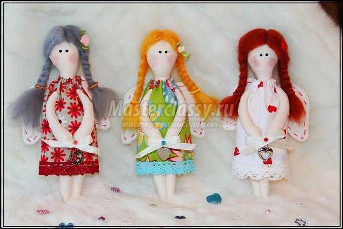 Объёмные ангелочки своими руками фото 296