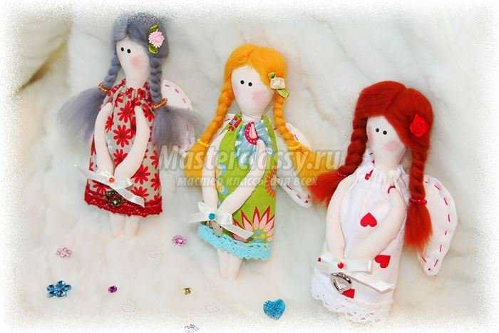Объёмные ангелочки своими руками фото 386