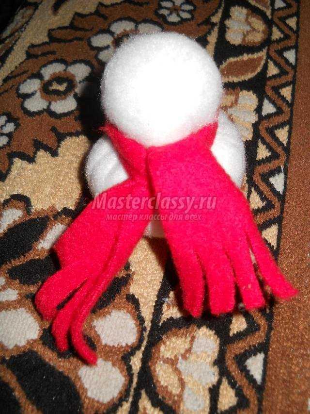 Снеговик сшитый своими руками фото