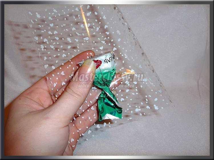 Корзина из конфет своими руками мастер класс фото