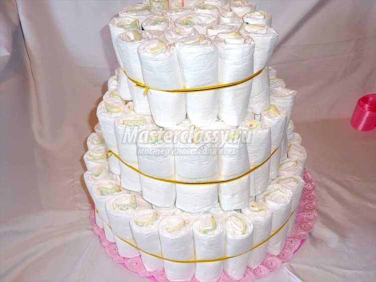 Как сделать торт своими руками для девочки 6