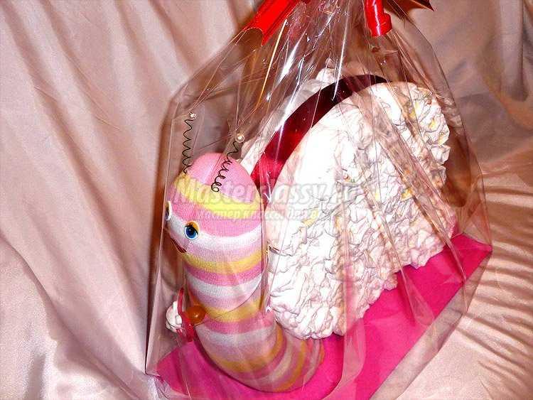 Подарок пошагово для новорожденных 943