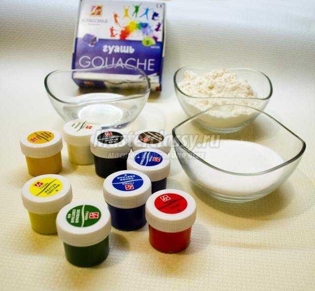 Как сделать соленое тесто цветное - Sergts.Ru