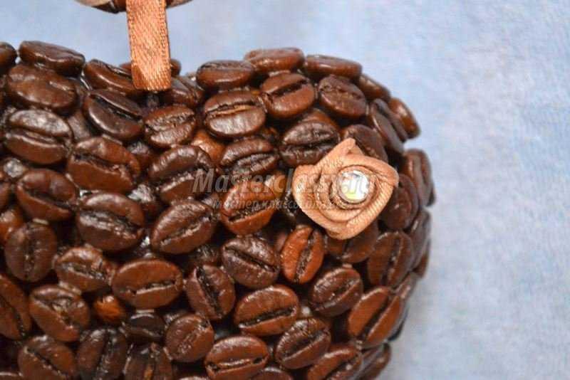 кофейное дерево сердце своими руками