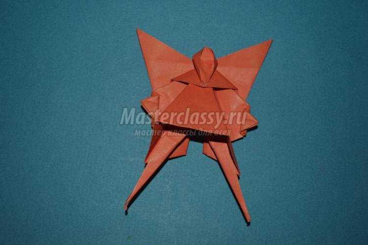 Оригами дня всех святых