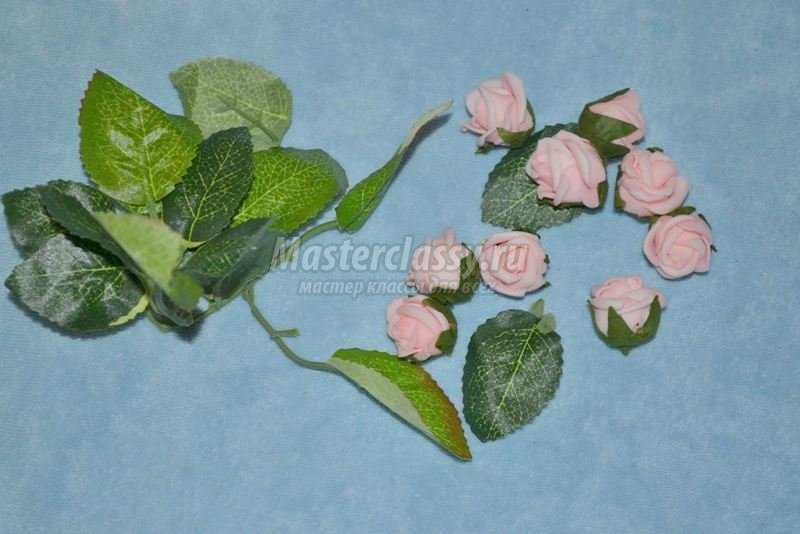 Цветы из фоамирана ко дню рождения