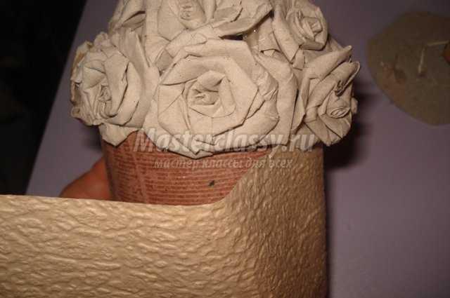 Поделки своими руками из туалетной бумаги мастер класс