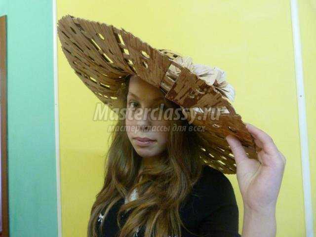 берестяная шляпа своими руками