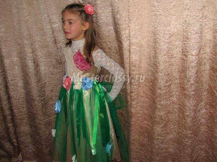 костюм Весны своими руками для девочки