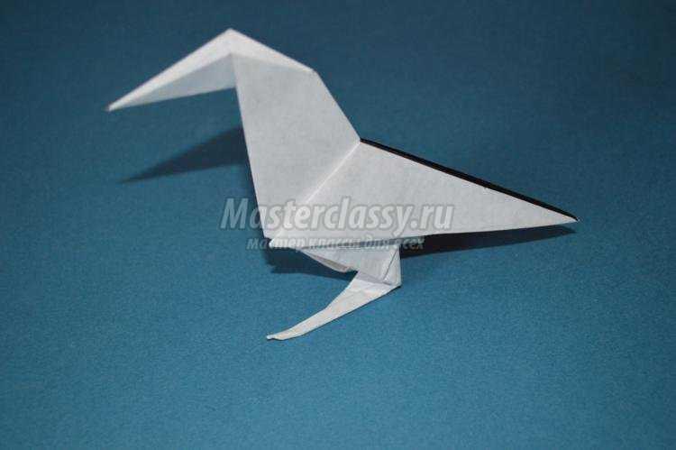 Белая ворона. оригами