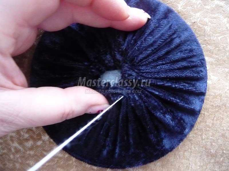 Шляпка – игольница своими руками