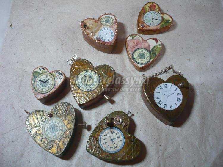 Как сделать старинные часы своими руками