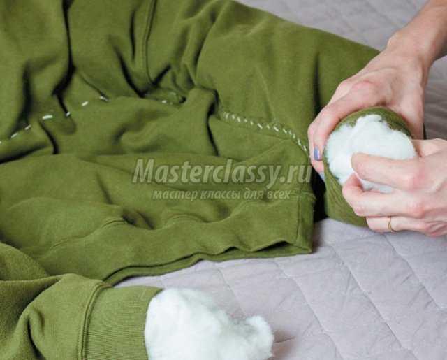 Как сделать собаке лежак