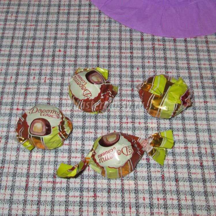 Шляпа из конфет мастер класс своими руками #3