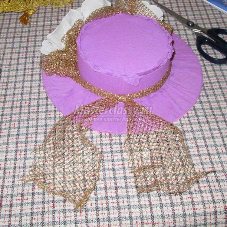 Шляпка из конфет своими руками 46