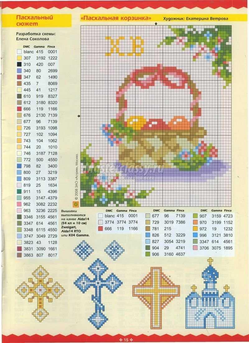 подставки в виде цветов для пасхальных яиц схема
