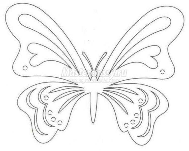 Киригами. Резная открытка «Роза и бабочка». Мастер-класс с ...