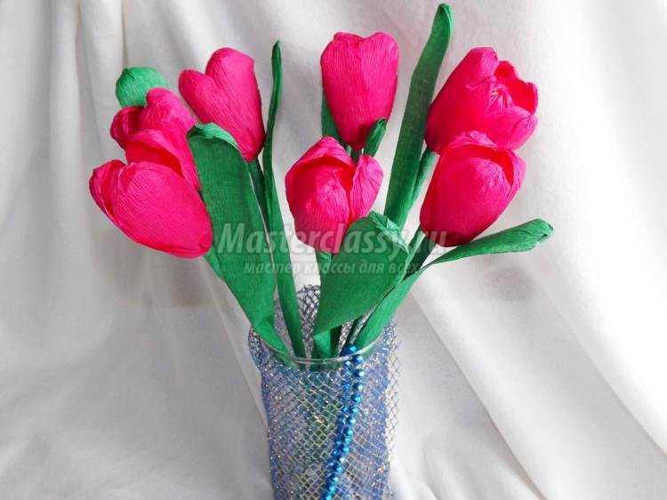 Цветы своими руками к 8 марта картинки