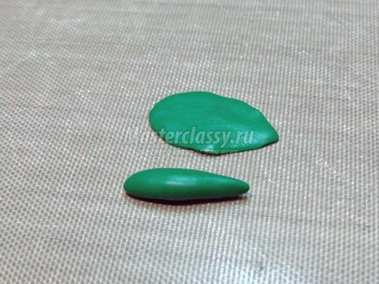 Душистый горошек из полимерной глины