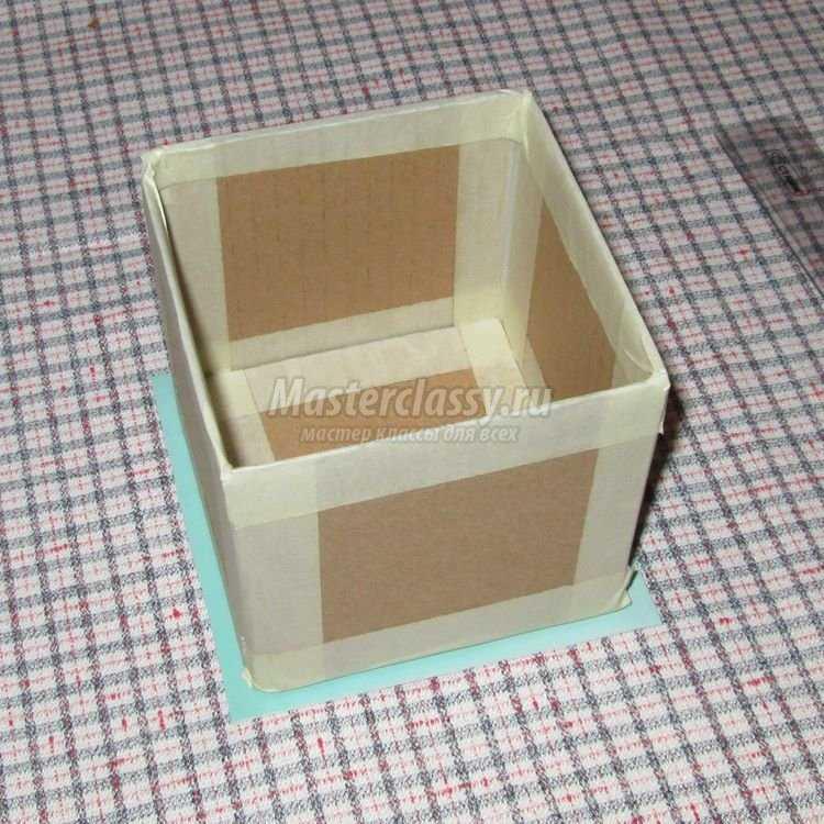 Коробка своими руками с фотографиями