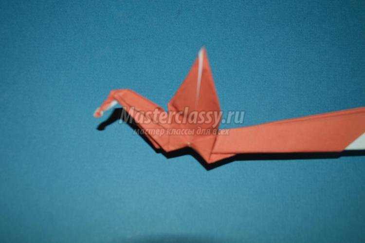оригами. Жар-птица