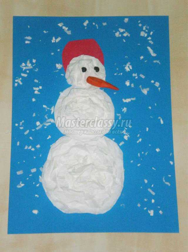 Снеговик из растишки своими руками фото 742