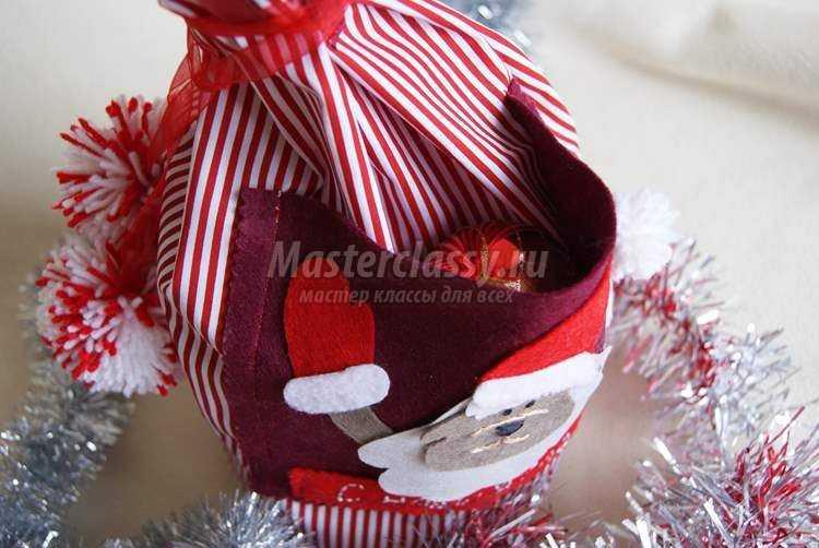 Новогодний мешок для подарков