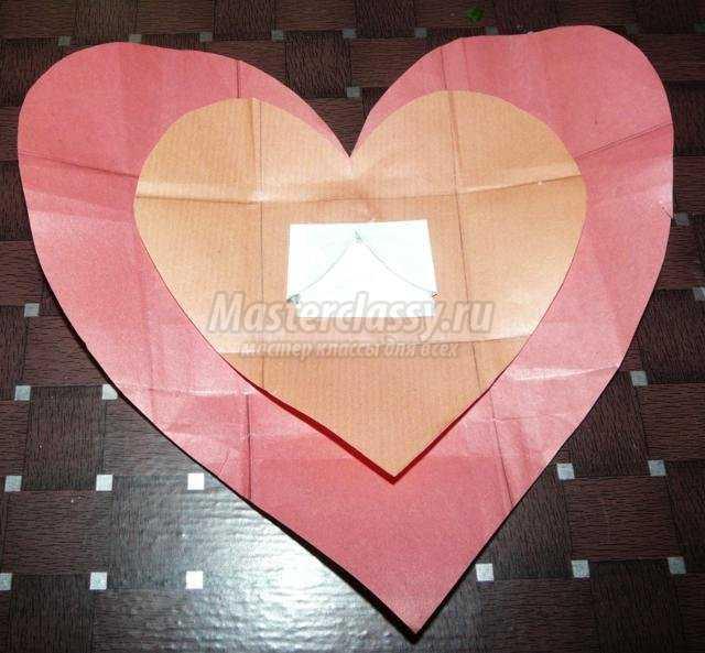 Как сделать сердечко письмо из бумаги