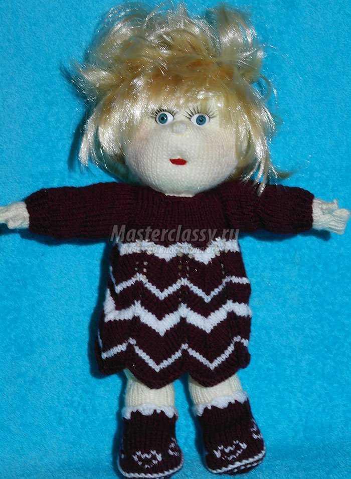 кукла своими руками вязание