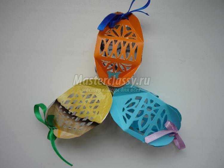 киригами. Резные пасхальные