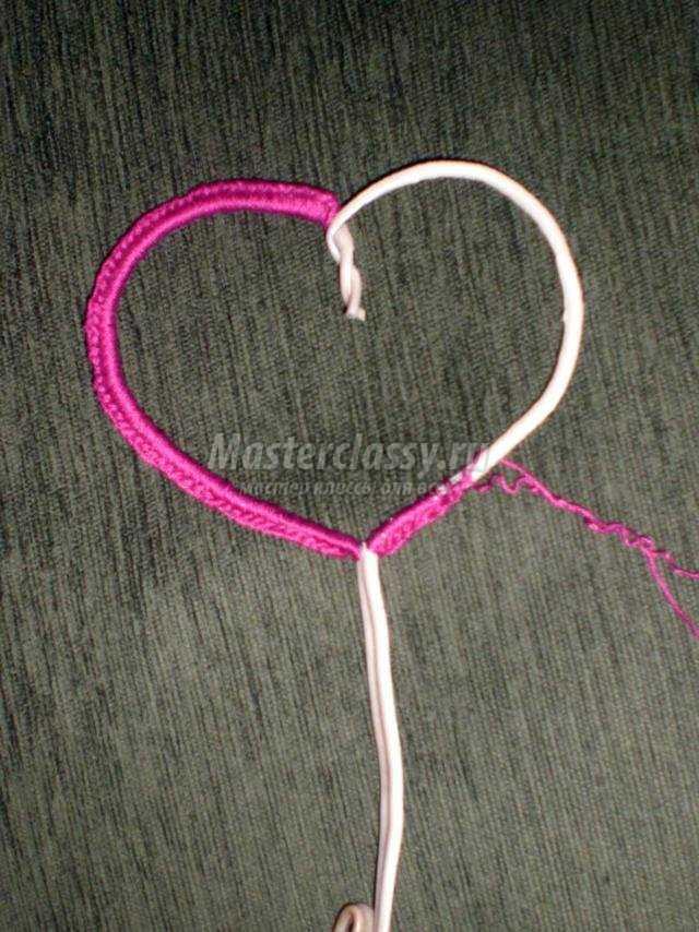 Как сделать топиарий сердечко