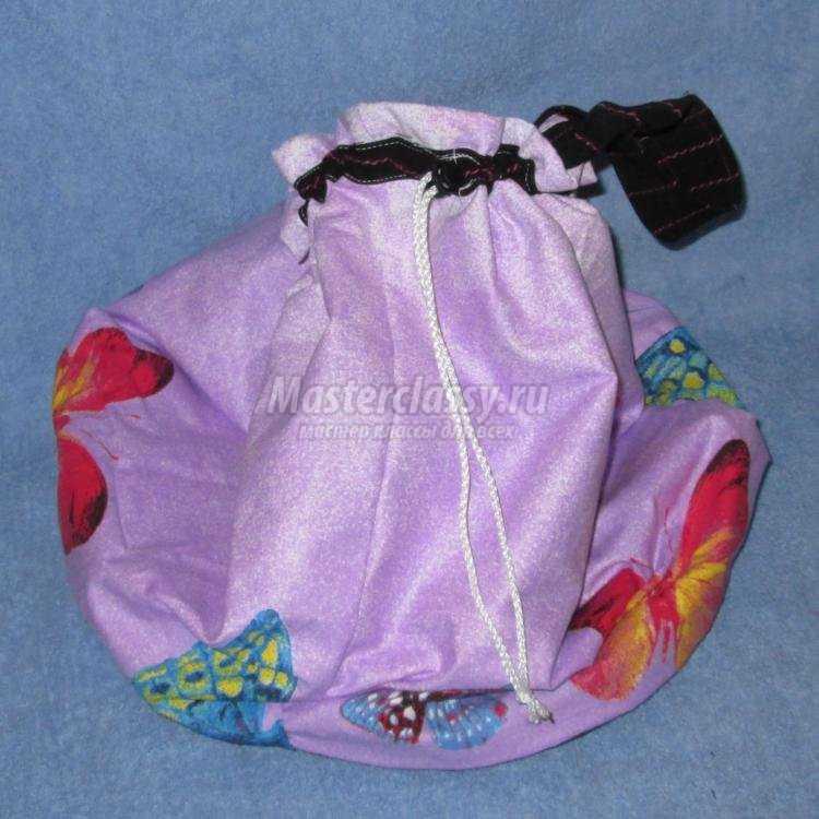 сумка для игрушек из ткани своими руками