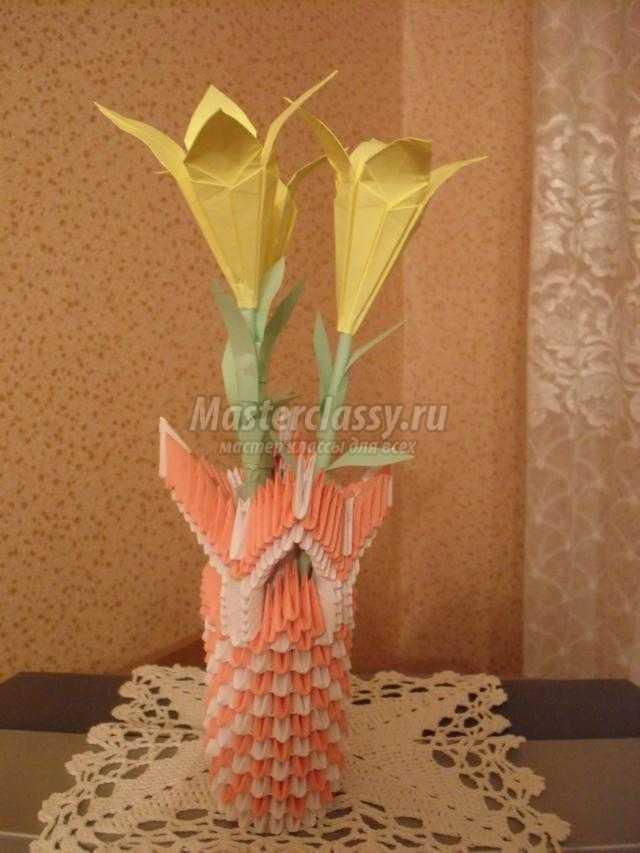 Ваза для цветов пошаговое фото