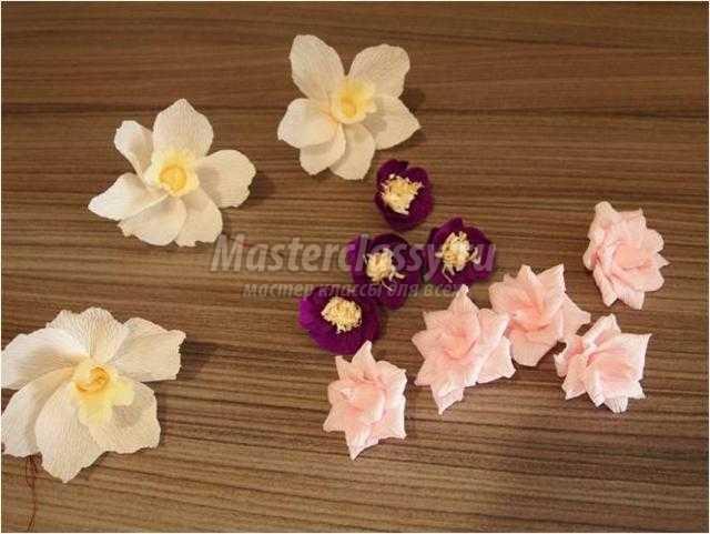 Мастер класс с ватными дисками цветы