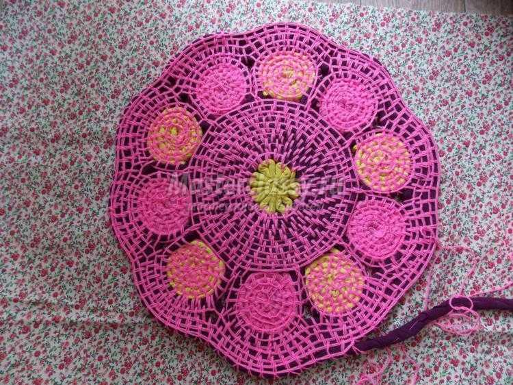Плетеные коврики для пола