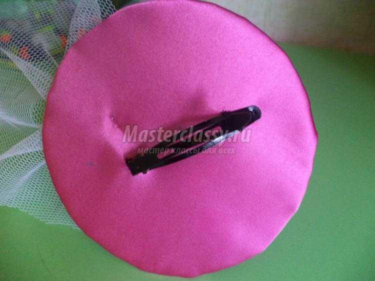 Шляпка на ободке мастер класс поделка #7