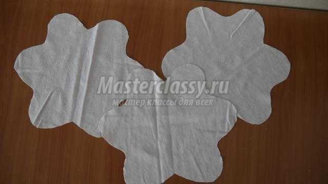 Шьем пасхальные салфетки мастер класс инструкция #13
