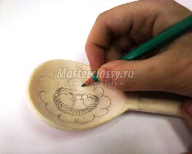 Роспись деревянных ложек мастер класс - Тильда. Tilda - Master classy - мастер