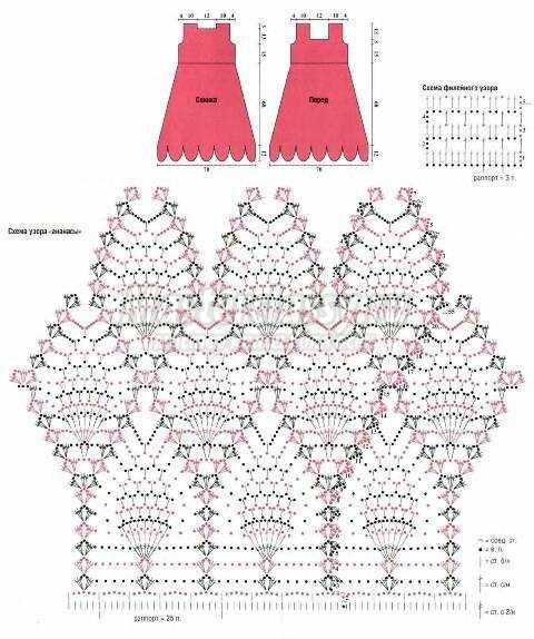 схемы вязания крючком детского болеро