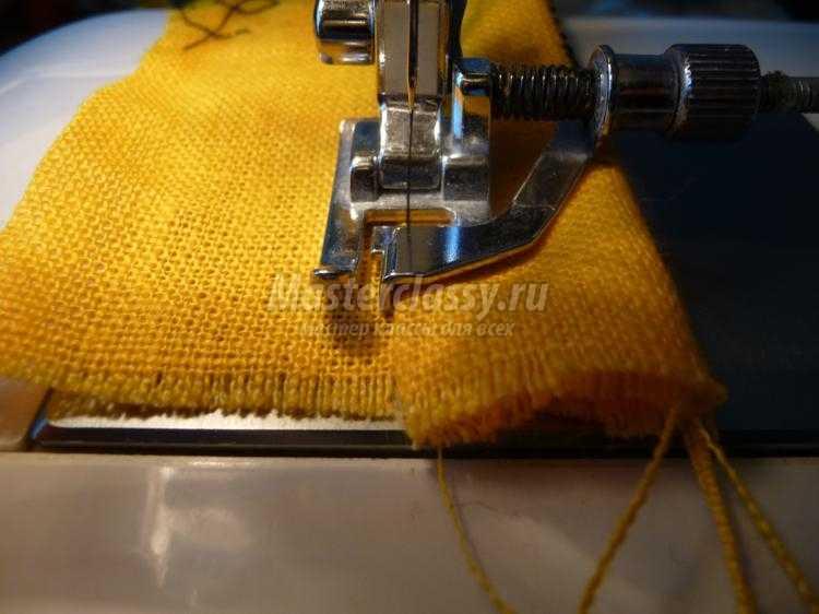 использование лапок к швейным машинам