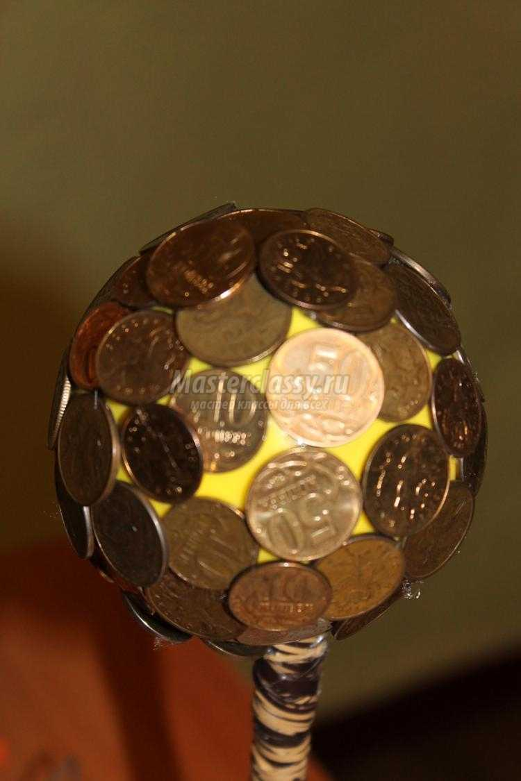 Мастер класс сувениры из монет своими руками