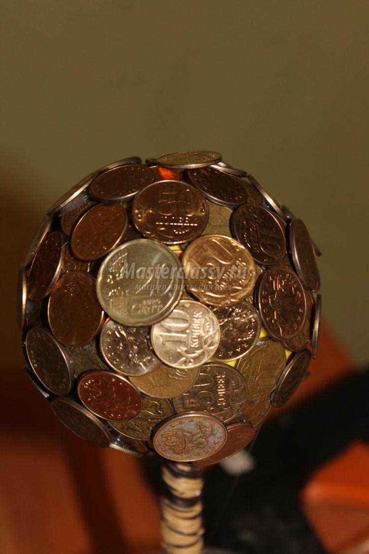 Своими руками денежный шар