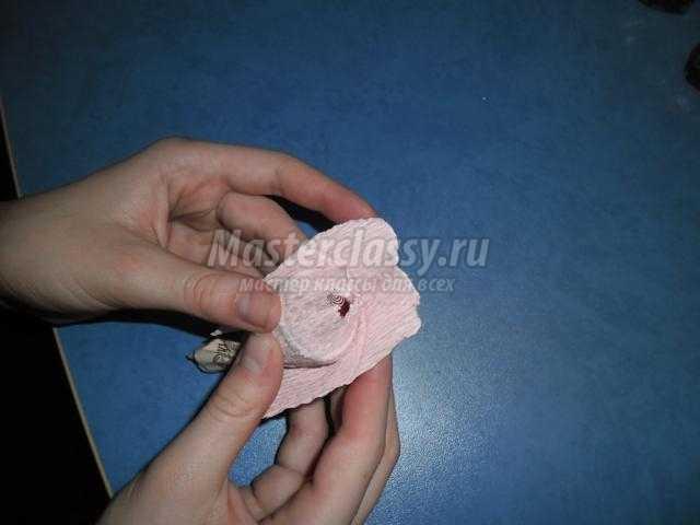 букет из конфет своими руками. Нежность