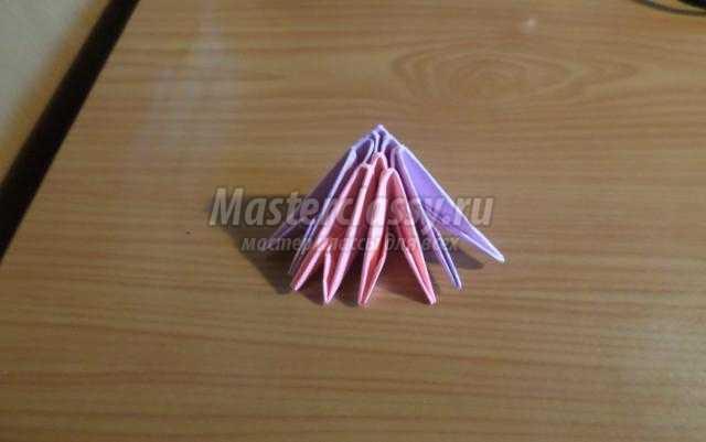 модульное оригами бабочка пошаговая инструкция - фото 11