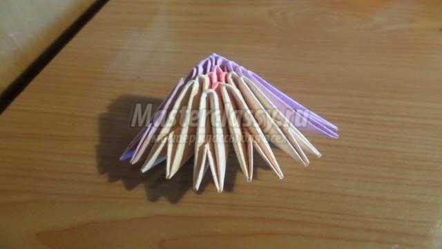 модульное оригами бабочка пошаговая инструкция - фото 10