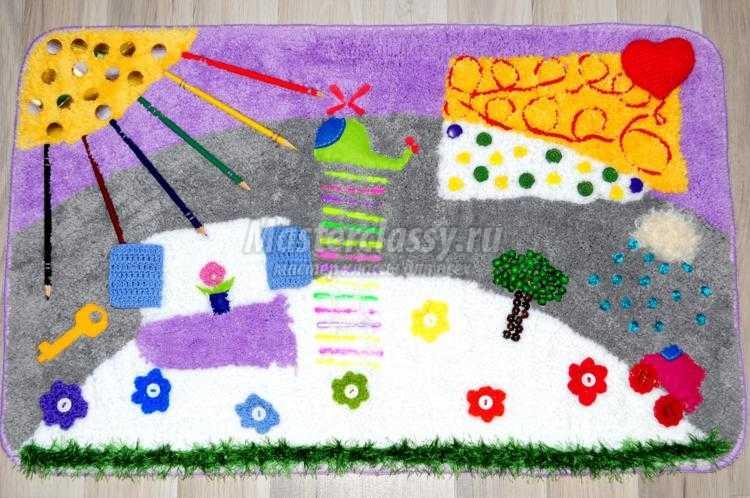 Ортопедический коврик для детей мастер класс