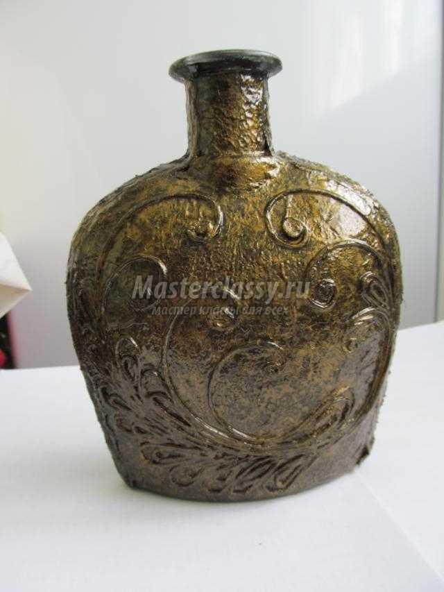 Подарочная бутылка своими руками фото 855