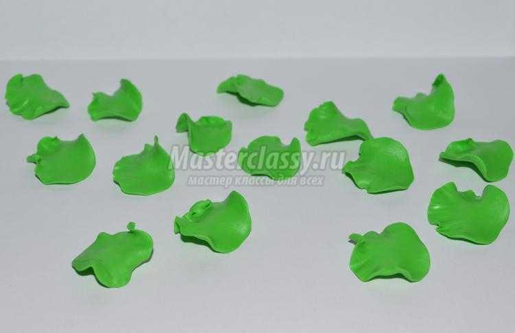 Школа мастеров мастер класс лепки из пластика анютины глазки подробно #9
